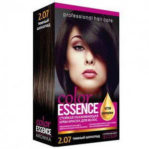 Крем-краска для волос с окислителем №2/07 Color Essence Темный Шоколад