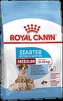 Сухой корм Royal Canin Medium Starter для собак в период беременности и щенков средних пород до 2 месяцев 1 кг