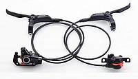 Дисковые тормоза Shimano BR-M355 + BL-M355, черные (комплект), фото 1
