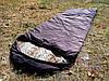 Спальный мешок на флисе,  мех, спальник туристический для похода, для холодной погоды!, фото 3