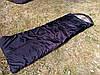 Спальный мешок на флисе,  мех, спальник туристический для похода, для холодной погоды!, фото 4