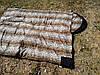 Спальный мешок на флисе,  мех, спальник туристический для похода, для холодной погоды!, фото 6