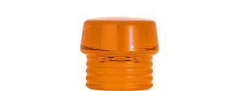Головка оранжева прозора для молотку Safety 50 мм SAF-KOPF; orange transparent