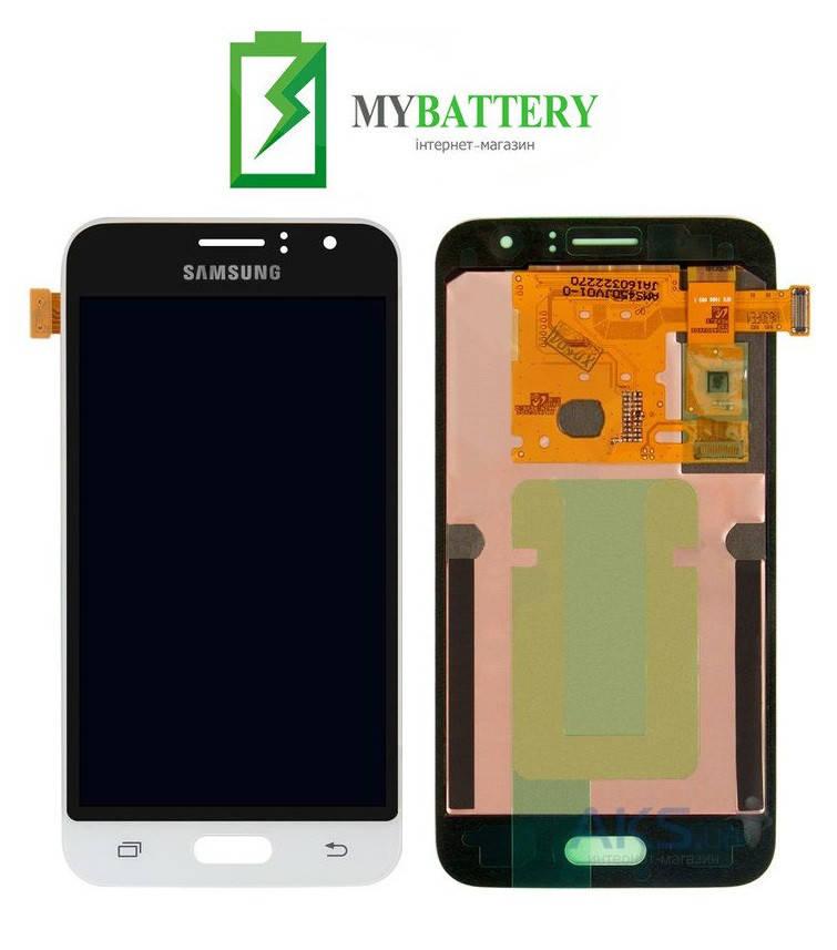 Дисплей (LCD) Samsung J120H Galaxy J1 (2016) TFT с сенсором белый