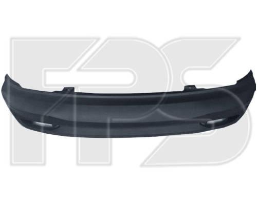 Задний бампер Kia Rio (11-14) седан, нижняя часть (FPS), фото 2