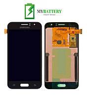 Дисплей (LCD) Samsung J120H Galaxy J1 (2016) TFT с сенсором чёрный