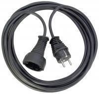 Удлинитель переноска 5 метров; H05VV-F 3G1,5; черный, фото 1