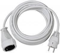 Удлинитель переноска 10 метров; H05VV-F 3G1,5; белый, фото 1