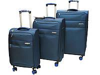Набор легких тканевых чемодана на 4-х кол.  Snowball  61825