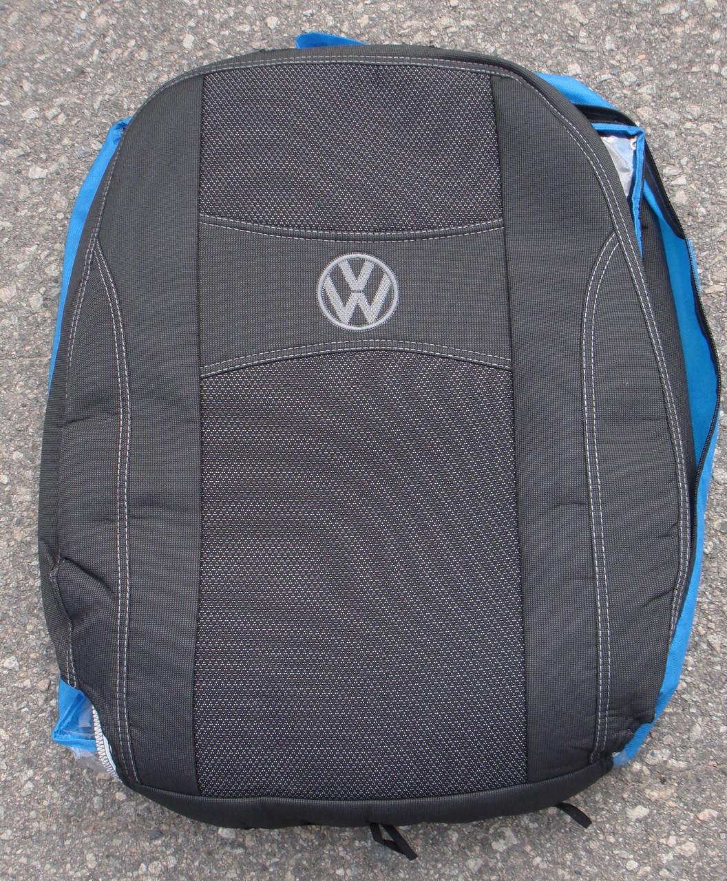 Авточехлы PREMIUM VOLKSWAGEN CADDY III 5 мест 2004-10г./2010 автомобильные модельные чехлы на для сиденья сидений салона VOLKSWAGEN Фольксваген VW