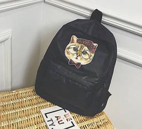 Милые тканевые рюкзаки с принтом кота  , фото 2