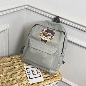 Милые тканевые рюкзаки с принтом кота, фото 2