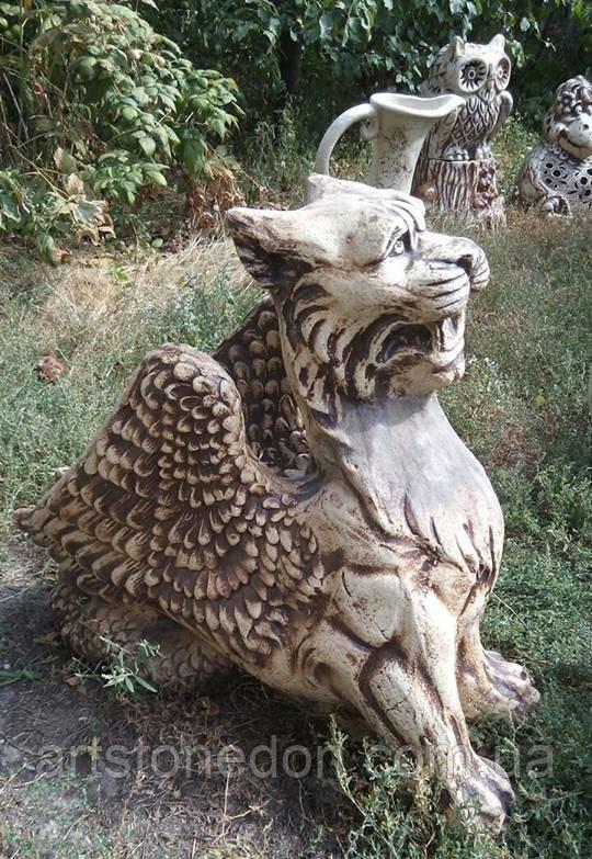 Скульптура для сада Грифон