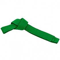 Пояс для кимоно Matsa 0040-260-7 зеленый 2,6м; 2,8м; 3,0м