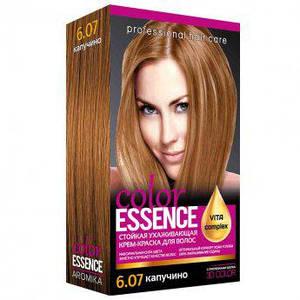 Крем-краска для волос с окислителем №6/07 Color Essence Капучино