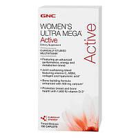 Витамины и минералы для женщин GNC WOMENS ULTRA MEGA ACTIVE (90 caps)