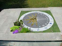 Солнечные часы от Ландшафтной Мастерской