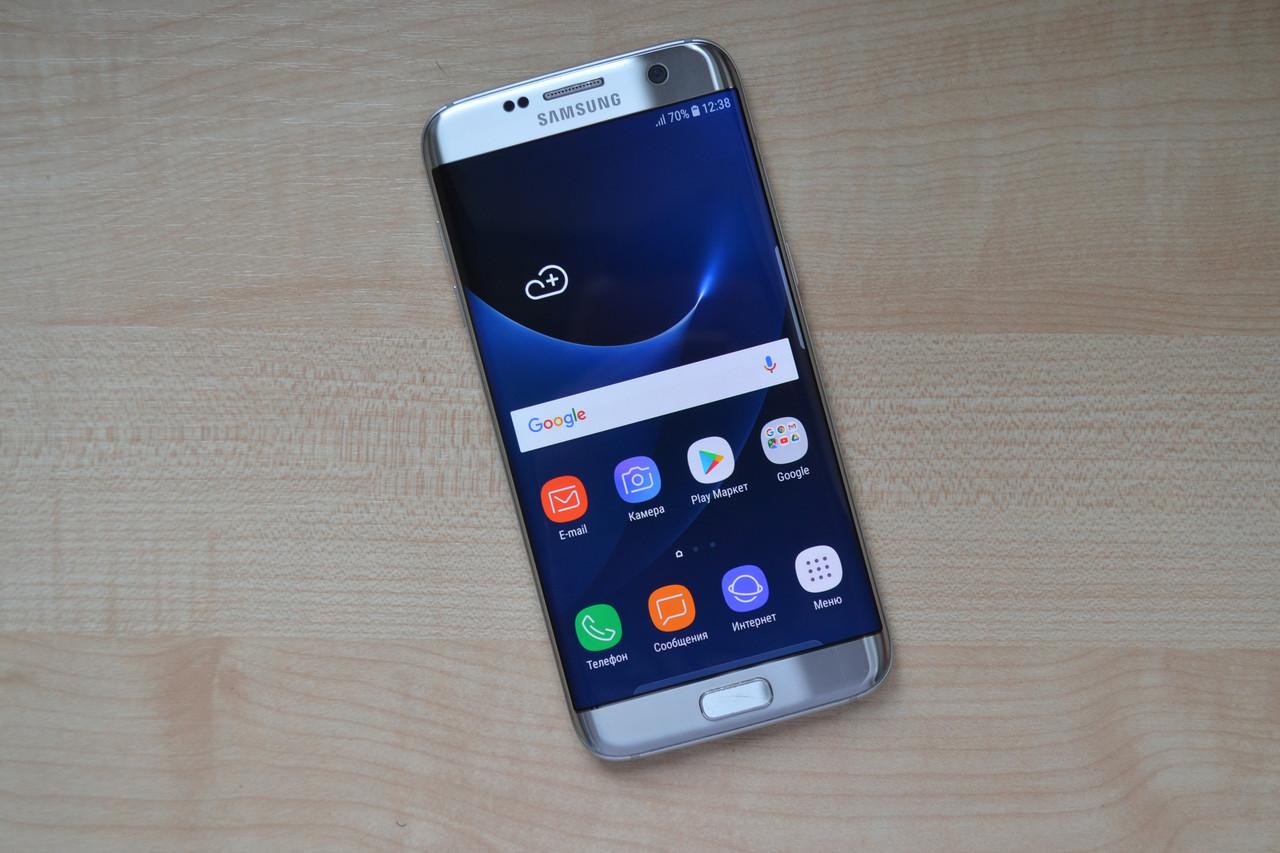 Samsung Galaxy S7 Edge SM-G935A Silver Оригинал!