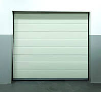 Готовые гаражные секционные ворота Doorhan ширина 2500 высота 2200 белые, фото 1