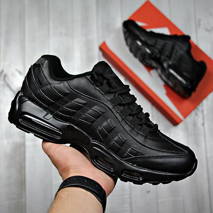 Кроссовки мужские Nike black топ реплика, фото 2