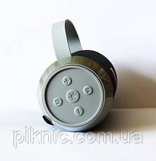 Бездротова колонка Charge J5 з вбудованим ліхтариком. Портативна Bluetooth колонка Чорний, фото 2