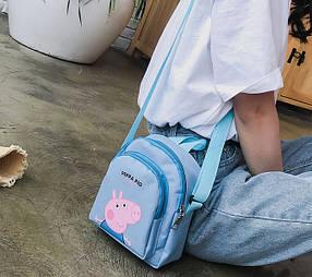 Милі сумочки з принтом Свинки
