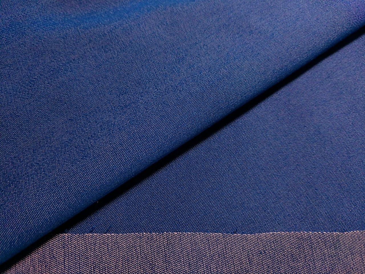 Джинс тенсел полированый, синий