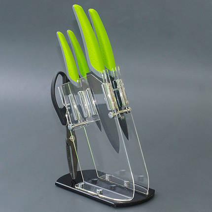 Набор ножей с керамическим лезвием 5 предметов М Herisson (EZ-1092), фото 2