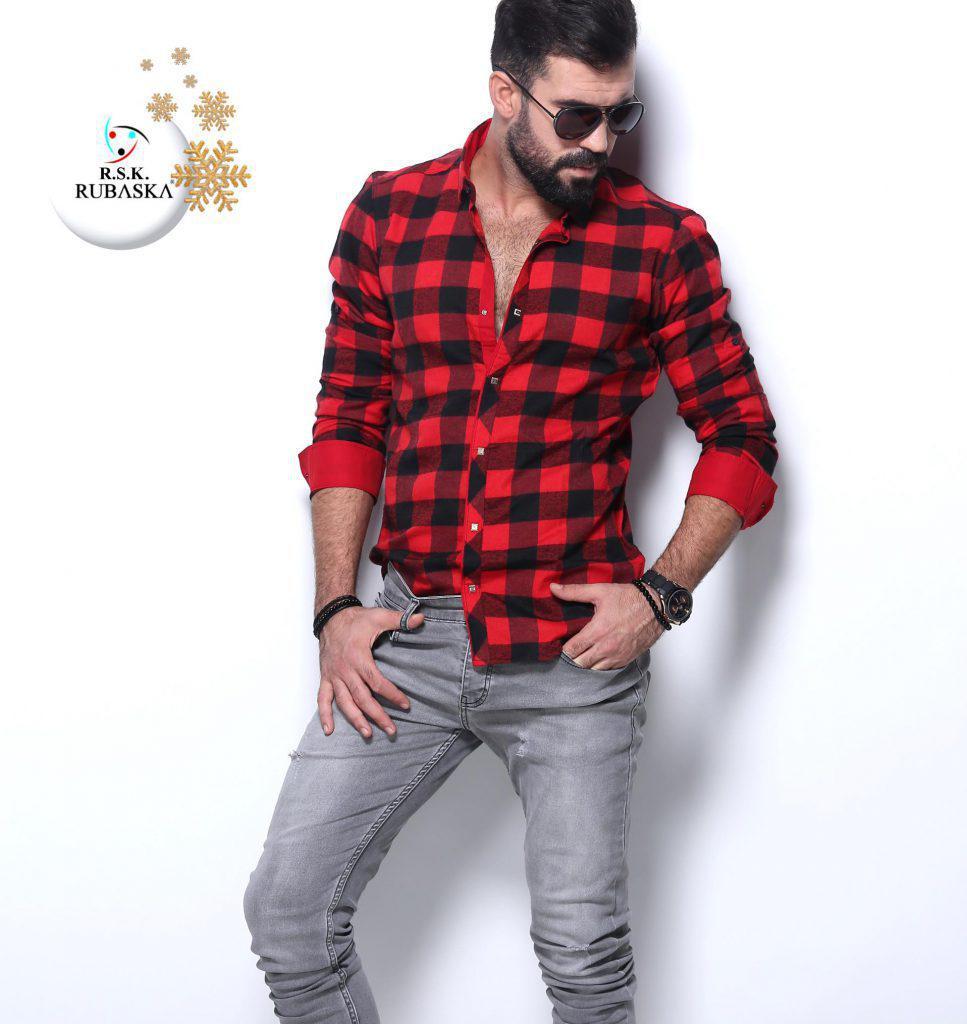 0e1eab0ff02 Мужская Утепленная Рубашка