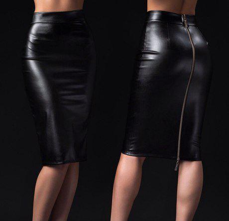 86755239bf93 Классическая юбка из эко-кожи 40, цена 350 грн., купить в Николаеве ...