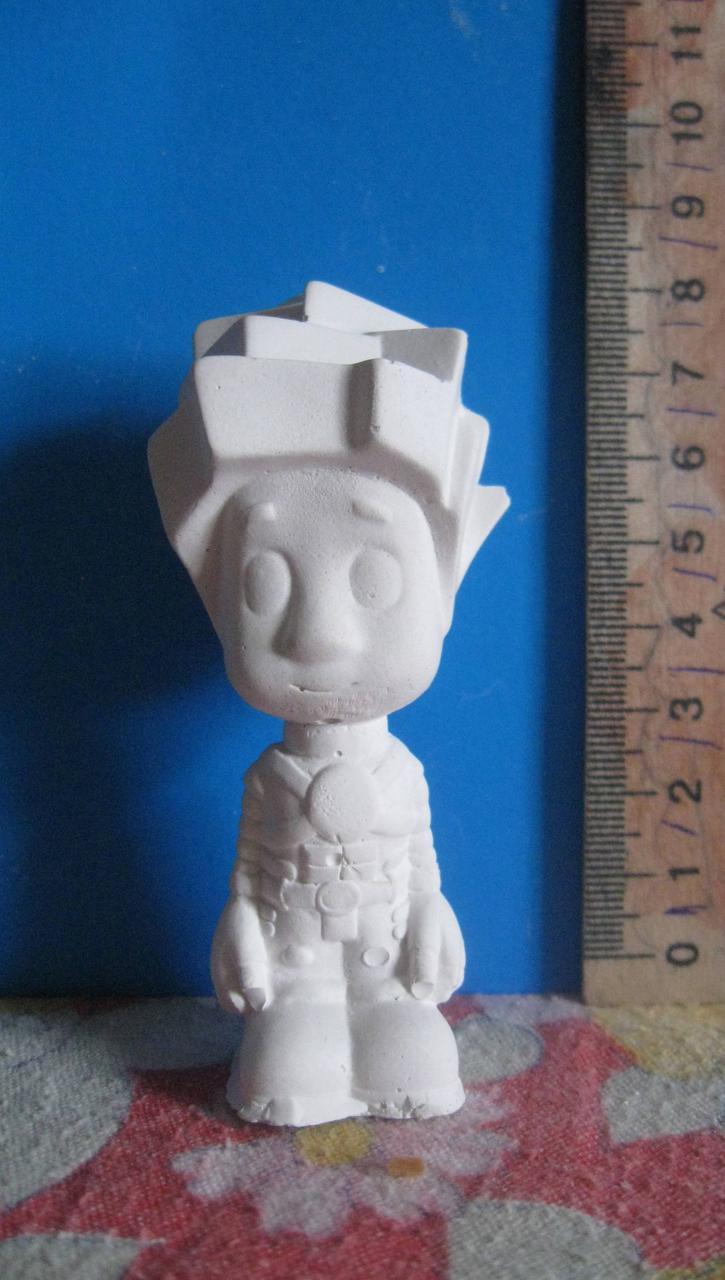 Гипсовая фигурка для раскрашивания статуэтка. Гіпсова фігурка для розмальовування. Винтик