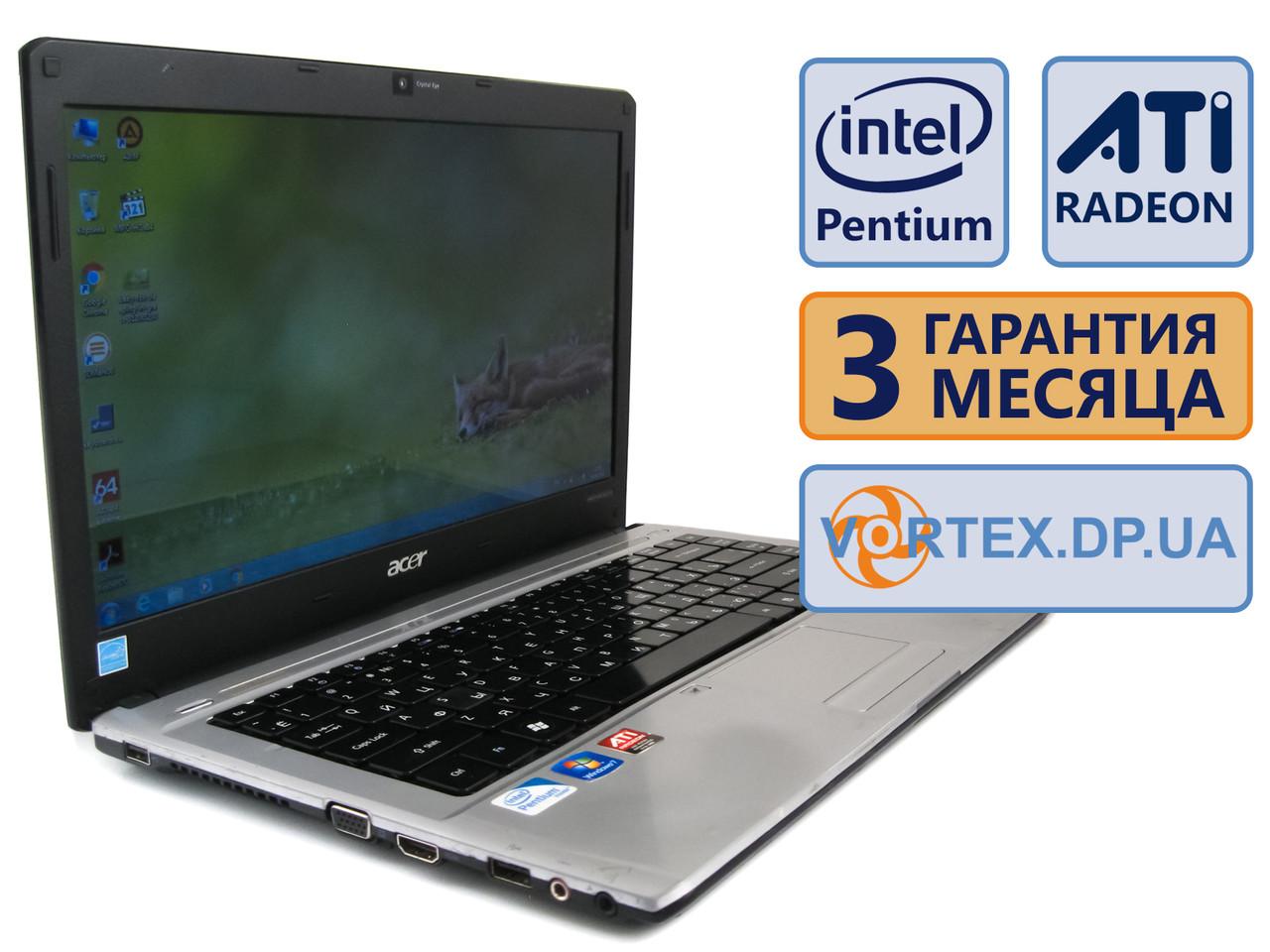 Уценка! Ноутбук Acer Aspire 4810TZ 14 (1366x768) / Intel Pentium SU410
