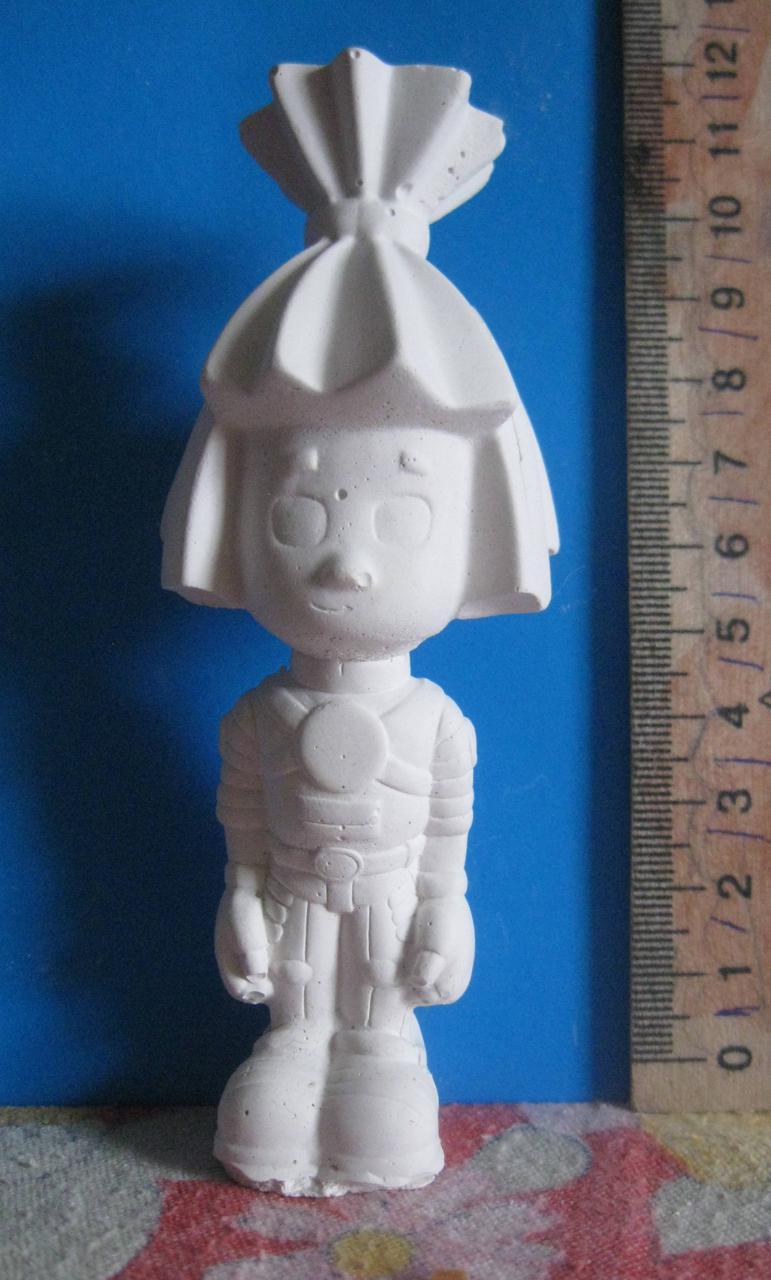 Гипсовая фигурка для раскрашивания статуэтка. Гіпсова фігурка для розмальовування. Гаечка