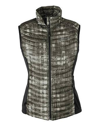 Женская жилетка дутая Eddie Bauer Womens MicroTherm StormDown Vest CARBON, фото 2