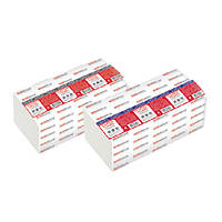 PRO service Standard Полотенца бумажные целлюлозные V-складка  белые 1- сл. 200 шт.