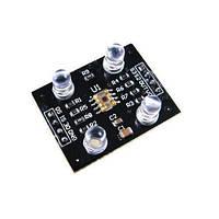Датчик распознавания цвета TCS230, модуль Arduino