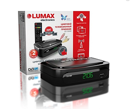 Т2 тюнер Lumax dv2106hd эфирная цифровая приставка. Опт.
