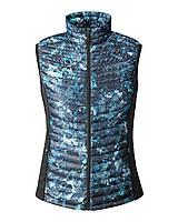 Женская жилетка дутая Eddie Bauer Womens MicroTherm StormDown Vest SAPHIRE