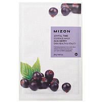 Тканевая маска для лица Mizon Joyful Time Essence Mask Acai Berry