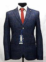 Мужской пиджак в размытую клетку Victor Enzo 5005