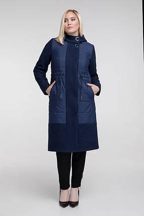 Теплое демисезонное начало зимы пальто размер от 48 до 62, фото 2