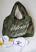 """Спортивная женская сумка """"Victoria's Secret"""" с принтом (4 цвета), фото 3"""