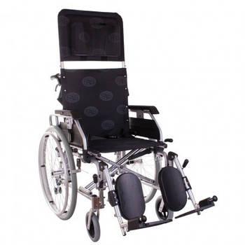 Инвалидная коляска многофункциональная алюминиевая Recliner Modern