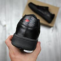 Кроссовки мужские Reebok black топ реплика, фото 2