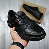 Кроссовки мужские Reebok black топ реплика, фото 3