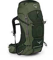 Рюкзак Osprey Aether AG 60 Adriondack Green - LG Серо-зеленый