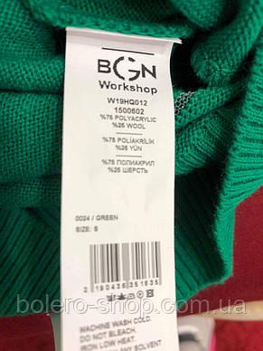 Женский свитер зелёный, фото 2