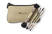 Набор двусторонних кистей в косметичке из натурального волокна Boho Chic Dual Brush Set BH Cosmetics Оригинал