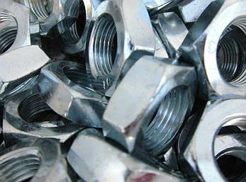 Гайка низька М10 DIN 439, ГОСТ 5916-70, DIN 936, фото 2