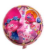 """Фольговані кульки з малюнком 18"""" Тролі Китай"""